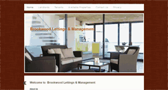 Preview of brookwoodlettings.co.uk
